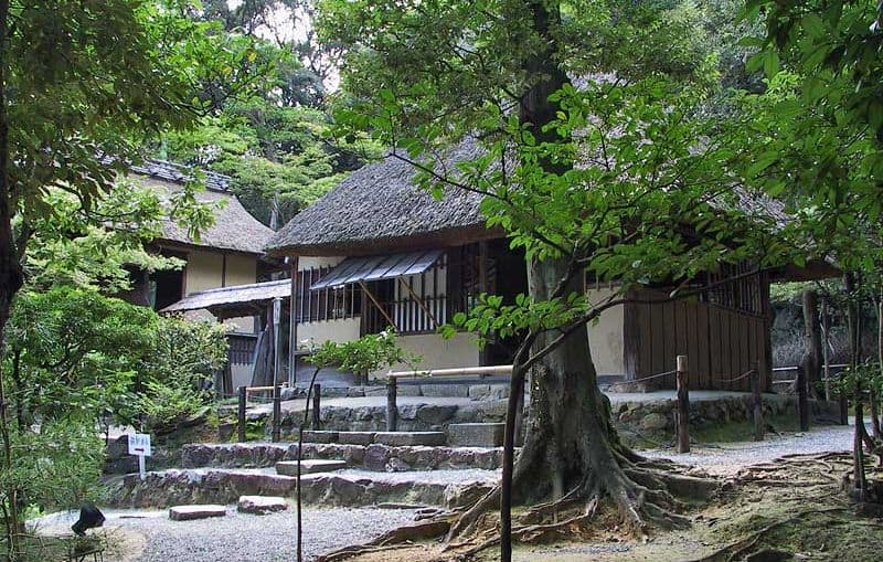 Чайный домик Шигуре-Теи