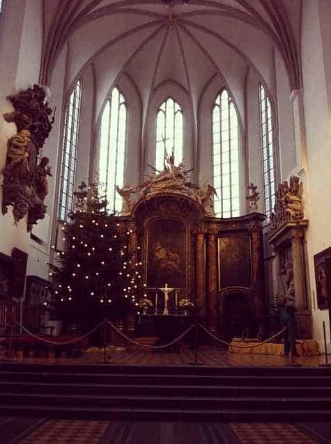 Церковная кафедра Мариенкирхе