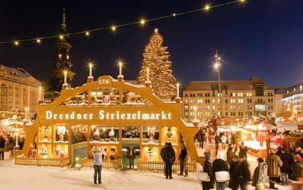 Дрезден в Рождество