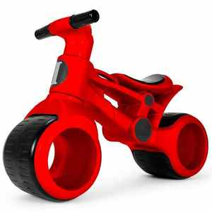 Велобег с широкими колесами