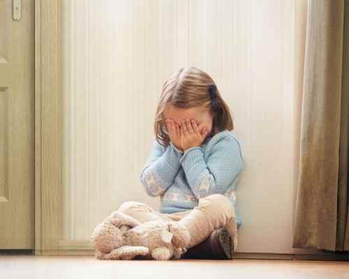 Ребенку страшно одному