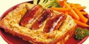 Блюдо английской кухни