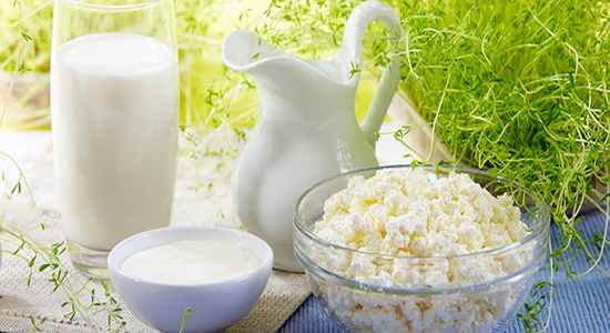 Продукты для молочной диеты