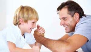Отец - воспитатель сына