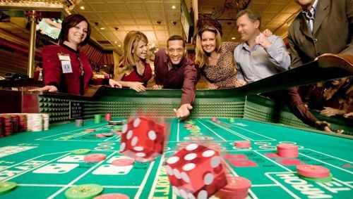 Атмосфера казино
