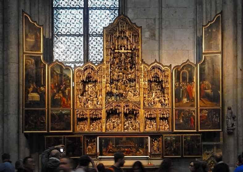 Кельнский собор алтарь