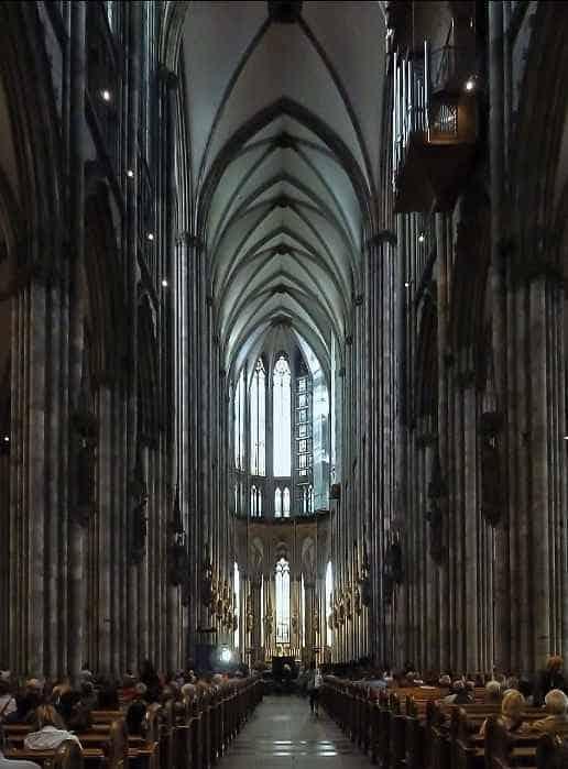 Кельнский собор своды