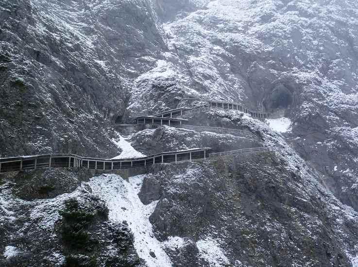 Путь к ледяной пещере