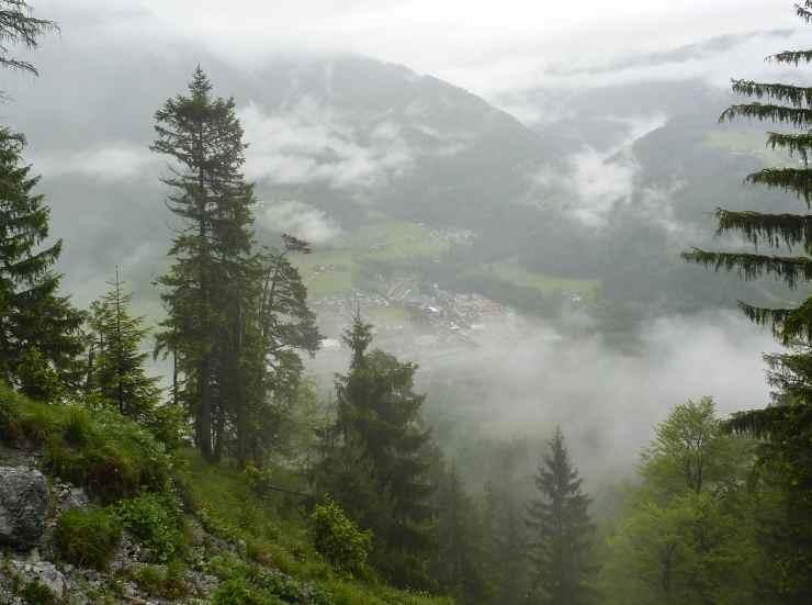 Вид в Альпах