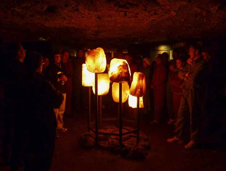 Солевые светильники