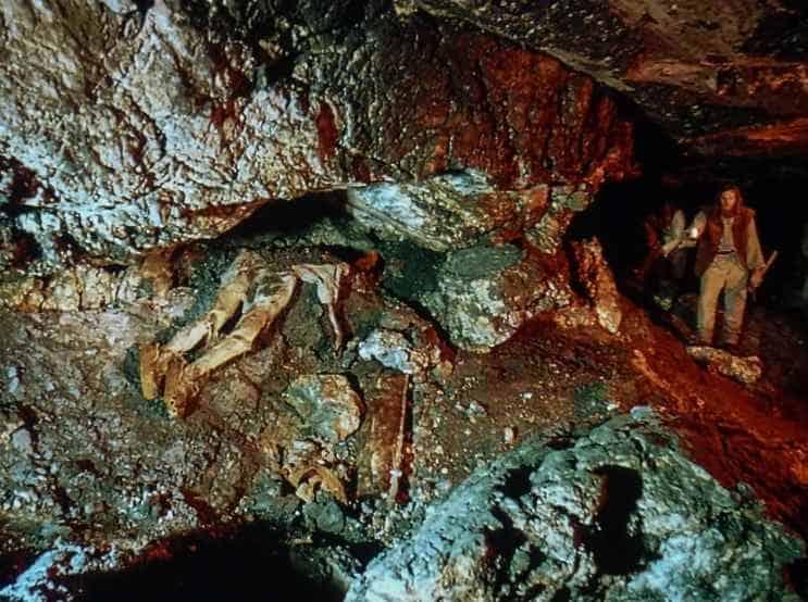 Доисторический человек в соляной шахте