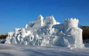 Снежный дворец в Харбине