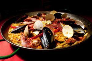 Кухня Испании Паэлья