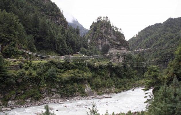 Мост в Непале