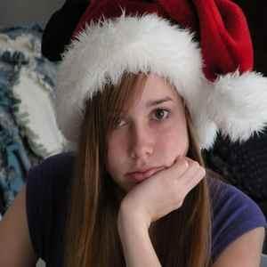 Санта скучает в Рождество