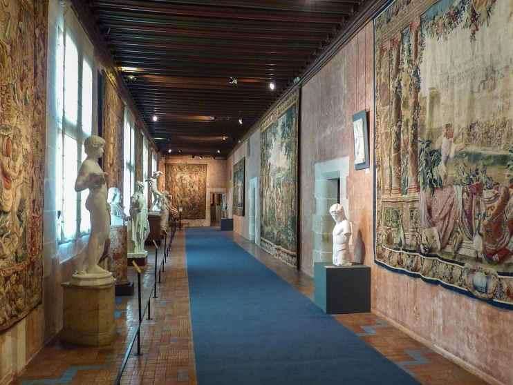 Замок Блуа, выставка