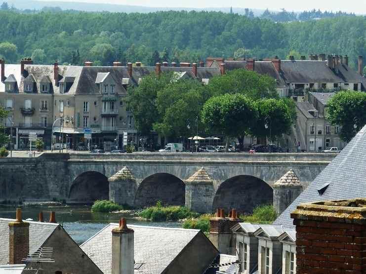 Замок Блуа, старинный мост