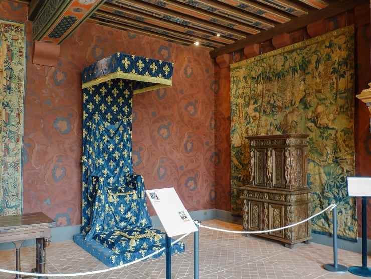 Замок Блуа, тронный зал