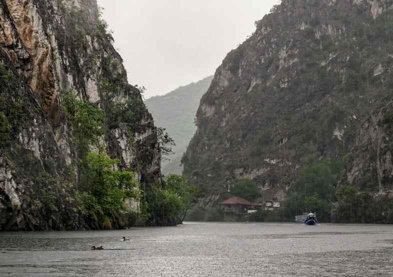 Красивый вид каньона Матка