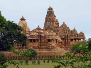 Древняя индийская постройка
