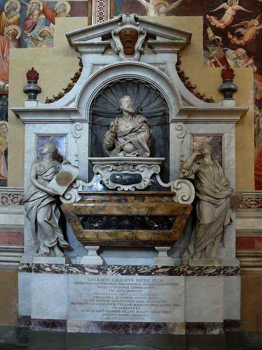 Надгробие Галилео