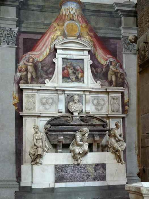 Надгробие Микеланджело