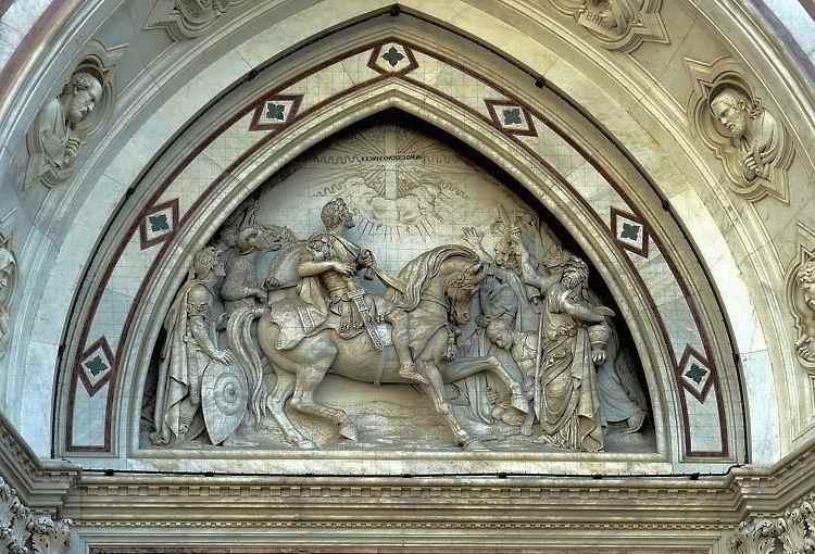 Барельеф церковь Санта - Кроче