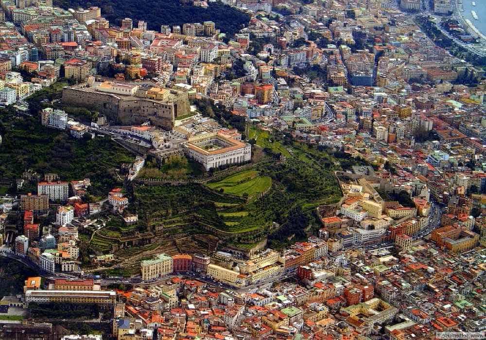 Неаполь сверху