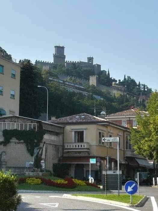 Въезд в Сан-Марино