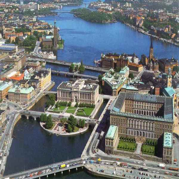 Основные достопримечательности Стокгольма