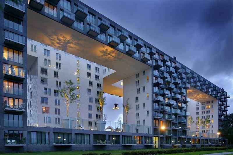 Интересная постройка в Голландии