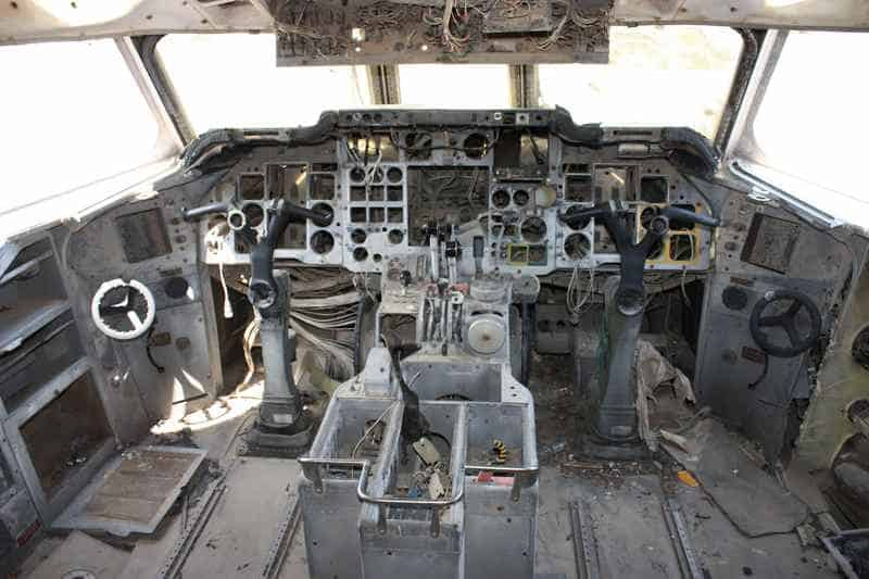 Из кабины Hawker-Siddeley Trident