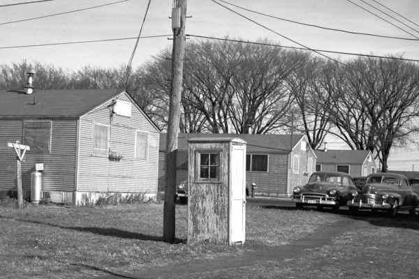 Первая телефонная будка