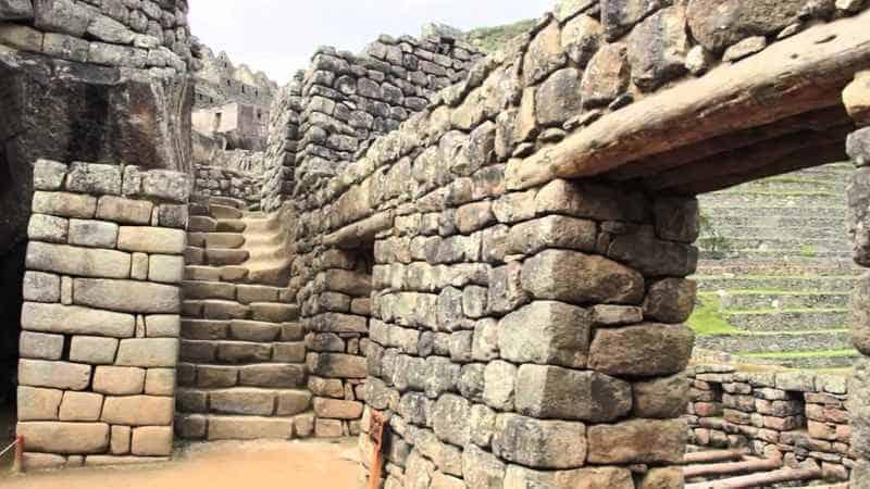 Древние стены Мачу-Пикчу