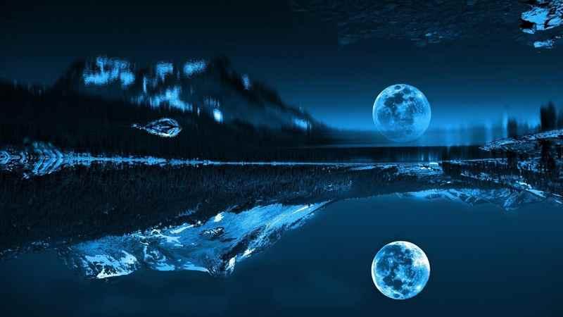 Очень странное фото с луной