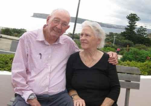 Дон Ричи с супругой