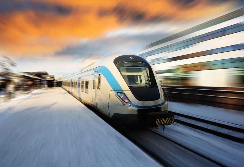 Сверхзвуковой поезд