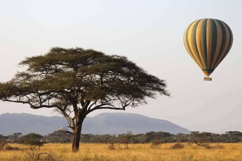 Воздушный шар, путешествия