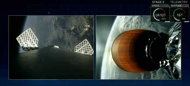 SpaceX снова запустила ракету