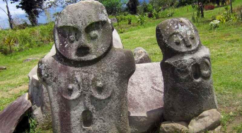 Статуи - мегалиты острова Сулавеси