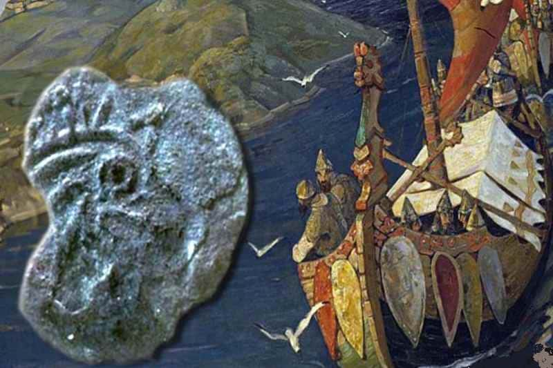 Монета в 1 пенни из штата Мэн