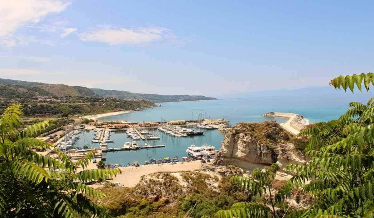 Порт Тропеи, Калабрия, Италия