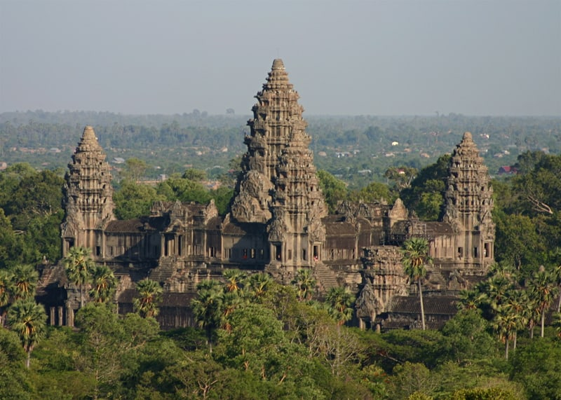 Храм Ангкор, Камбоджа