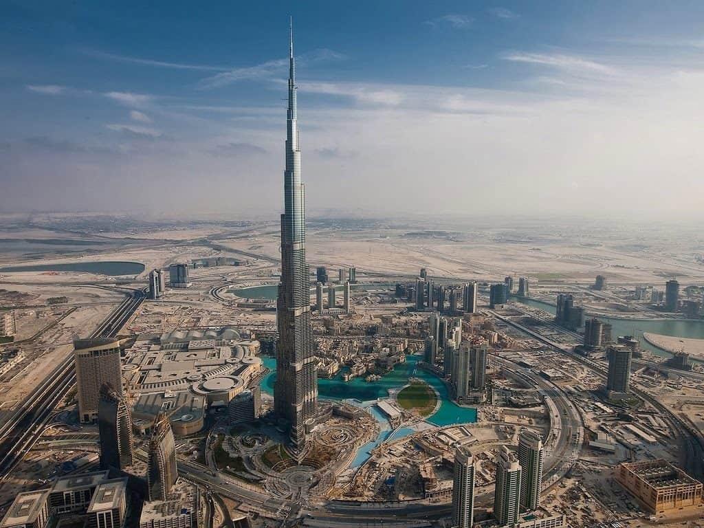 Бурдж-Халифа, Дубай