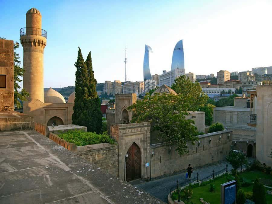 Ичери-Шехер, Азербайджан
