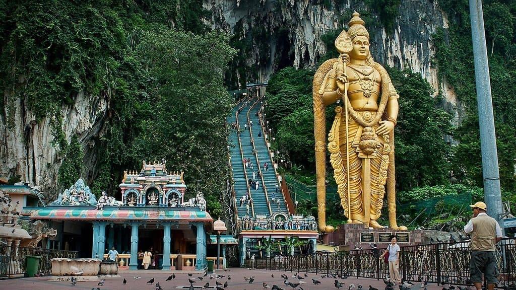 Индуисткий храм Бату Кейвз, Малайзия