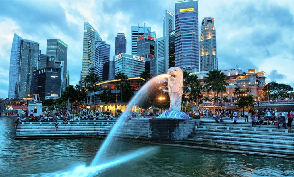 Парк Мерлиона, Сингапур