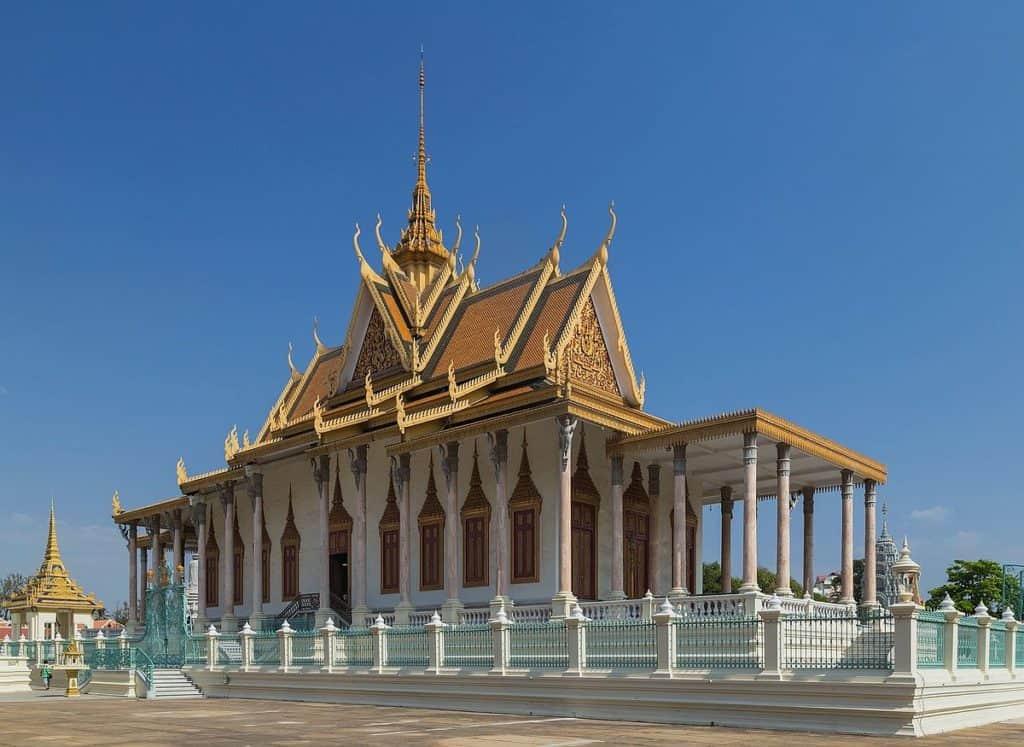 Серебряная пагода, Камбоджа