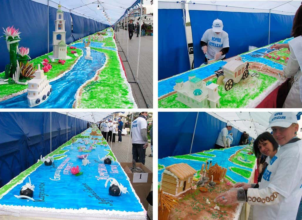 Самый большой торт в России