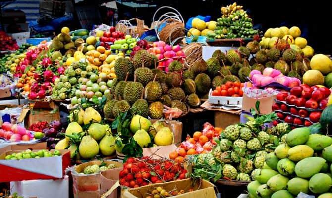 Фрукты, таиланд